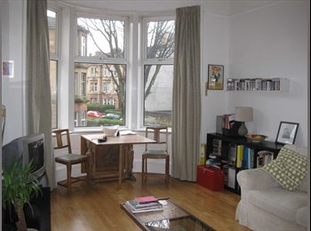 Bright double room to let in a cosy tenement flat share,...