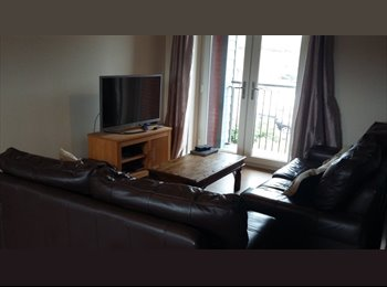 EasyRoommate UK - Great double bedroom in large 2 bed flat Walton - Wavendon, Milton Keynes - £450 pcm