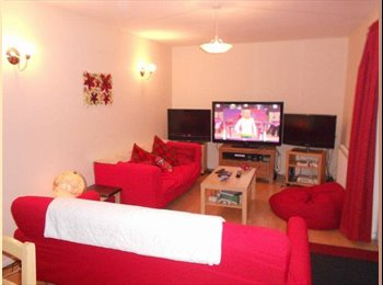 Spacious double room available immediately - great storage...