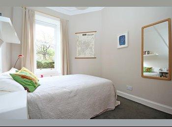 EasyRoommate UK - Short term or Monday to Friday let in Lovely Flat  - Edinburgh Centre, Edinburgh - £450 pcm