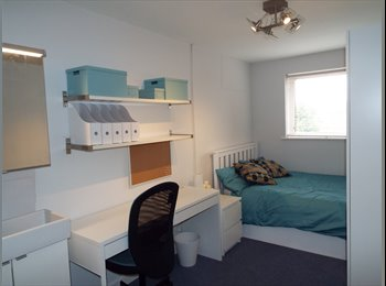 Desirable room available in a five bedroom apartment -...