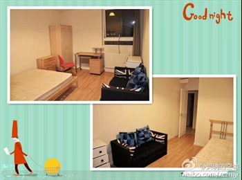 Large Double room to rent, £600 PM bill included