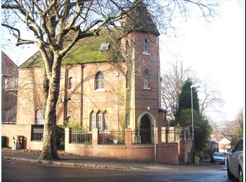 EasyRoommate UK - Magnificent stately Gothic style detached house with ten large double bedrooms - £115pppw - Nottingham, Nottingham - £502 pcm