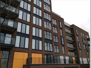 EasyRoommate UK - Large double en-suite, terrace overlooking park - Poplar, London - £1,000 pcm
