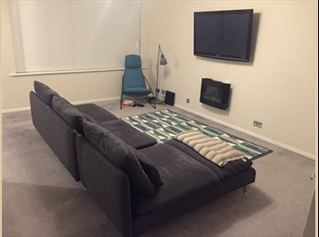 EasyRoommate UK - Modern, clean flat with good travel links. - King's Norton, Birmingham - £450 pcm