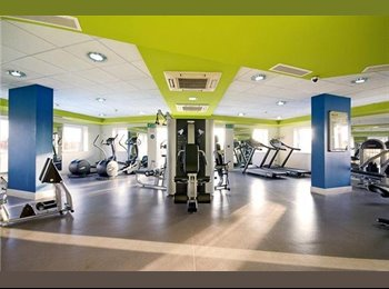 FREE GYM MODERN  LARGE ENSUITE DOUBLE ROOM IN STRATFORD ALL...