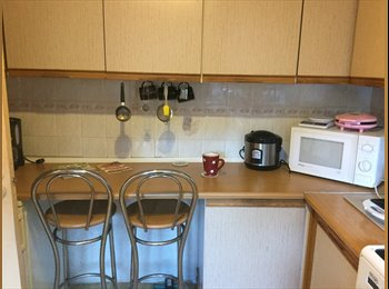 Double Room to rent with PhD student-