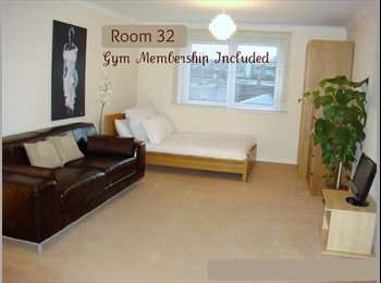 Beautiful Room with Gym Access