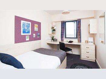 Ensuite student room, Glasgow near Strathclyde uni & 5 mins...