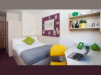 student room at Buchanan View (in the city centre of...