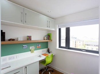 Rent a studio in student accomodation in Glasgow West end...