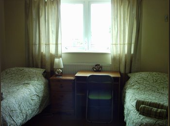LARGE Twin room available for females - or male if in...