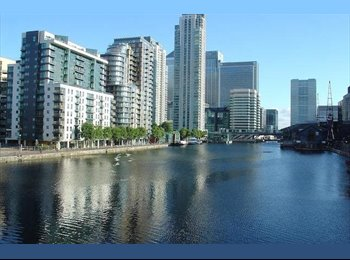 Double Room to rent in Millharbour CANARY WHARF INCLUDING...
