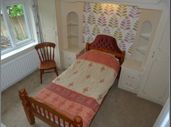 Double Furnished Room, Freeview Tv, WiFi, No Bills.