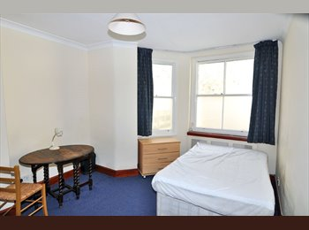 A large double room in a friendly flatshare on Penywern...
