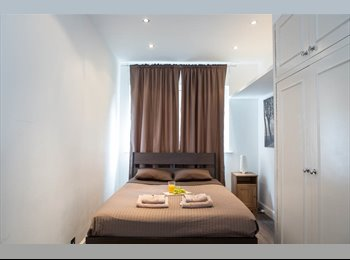LOVELY LUXURIOUS DOUBLE ROOM IN 2 BEDROOM FLAT. LIVING...