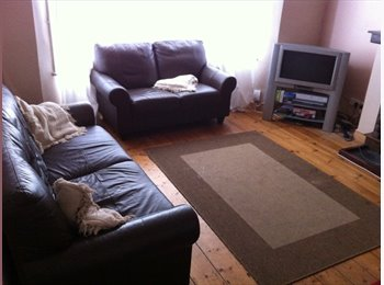 EasyRoommate UK - Good size redecorated double room in friendly working house, Mannamead - £320 pcm