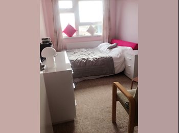 Lovely double room to rent to a female a few minutes walk...