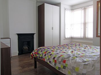 Large king size bedroom in relaxed friendly house