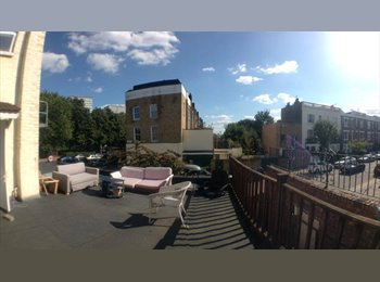 Stunning Holloway Road Room 170pw w. Roof Terrasse