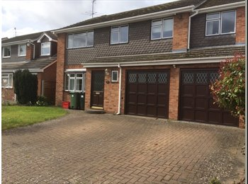 2 double bedrooms in large furnished detached house