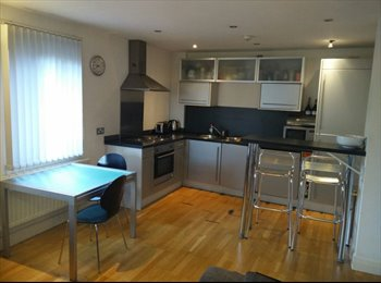 EasyRoommate UK - Full flat 2 double bed with wifi - Manchester City Centre, Manchester - £600 pcm