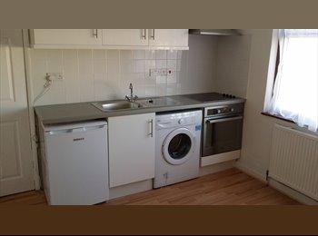 Room kitchenette laundry bathroom