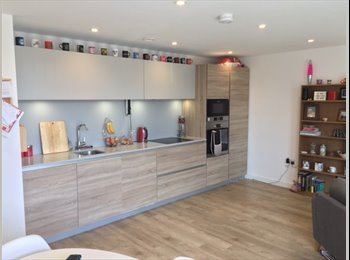 EasyRoommate UK - Ensuite double available in 2 bed new apartment - Tooting, London - £1,100 pcm