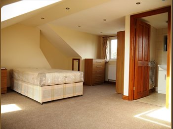 Large Double Room and En-suite room