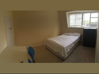 Large room in a flat with a garden, amazing location