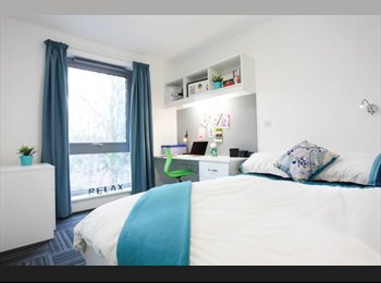 EasyRoommate UK - EN SUITE ROOM AVAILABLE IN BEST STUDENT ACCOMMODATION -ROPEMAKER COURT - Rusholme, Manchester - £611 pcm