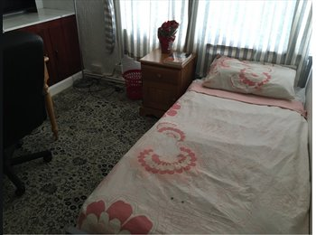 A double  room is available in the shared house from now on