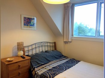 EasyRoommate UK - Double room in quiet house,  close to ARI & frequent bus routes to town. - Cornhill, Aberdeen - £400 pcm
