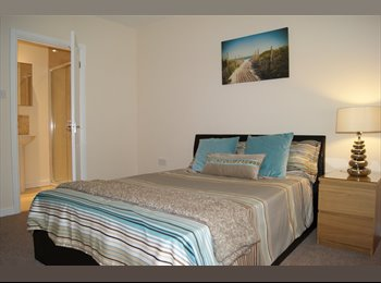 2 spacious rooms in professional houseshare
