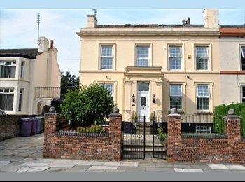 EasyRoommate UK - Beautiful Georgian house overlooking Park, Liverpool - £360 pcm