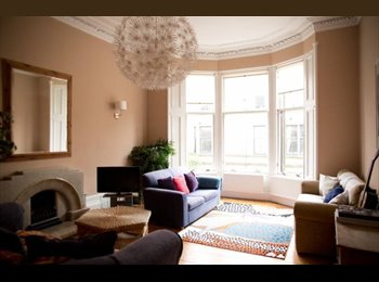 Beautiful Double Room in West End Town House (Short-Let)