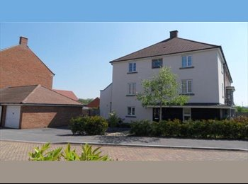 EasyRoommate UK - Double room available in modern townhouse with two professionals, Basingstoke and Deane - £580 pcm