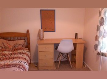 Newly decorated single room in a clean and quiet house