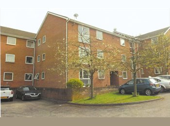Spacious furnished 2-bed flat close to Reading Town centre