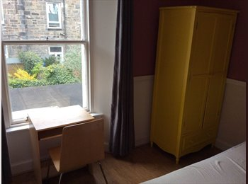 EasyRoommate UK - OPPORTUNITY!Pretty &spacious double room in residential house.. available immediately!, Edinburgh - £490 pcm