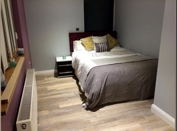 Furnished Double Room - Parking, Wifi, Sky TV, Garden, BBQ...