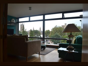 Room to rent - Zone 1, Vauxhall. Riverside views