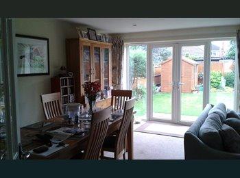 EasyRoommate UK - Bright, Clean & Spacious Double Bedroom in Modern family home, Ashford - £550 pcm