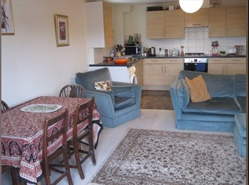 EasyRoommate UK - Double L-shape room available in lovely 2 bed flat, Brighton - £450 pcm