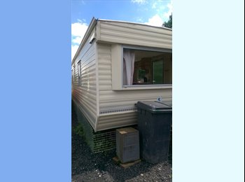 Double room in mobile home