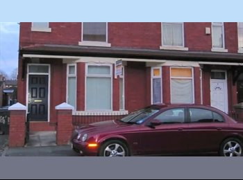 FOUR BED HOUSE TO RENT IN RUSHOLME, MANCHESTER.