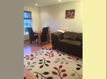 A cosy single room in a modern maisonette