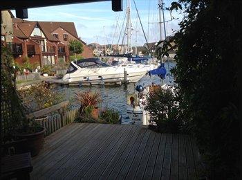 EasyRoommate UK - Large Double Room - Port Solent Marina, Portsmouth - £500 pcm