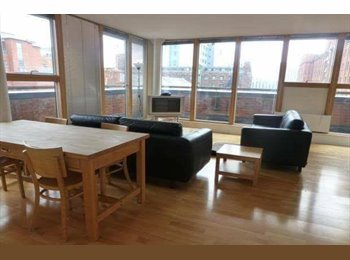 EasyRoommate UK - One bedroom in bright flat near city centre, Manchester - £600 pcm