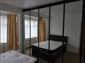 Spacious Double Room with 6 door wardrobe